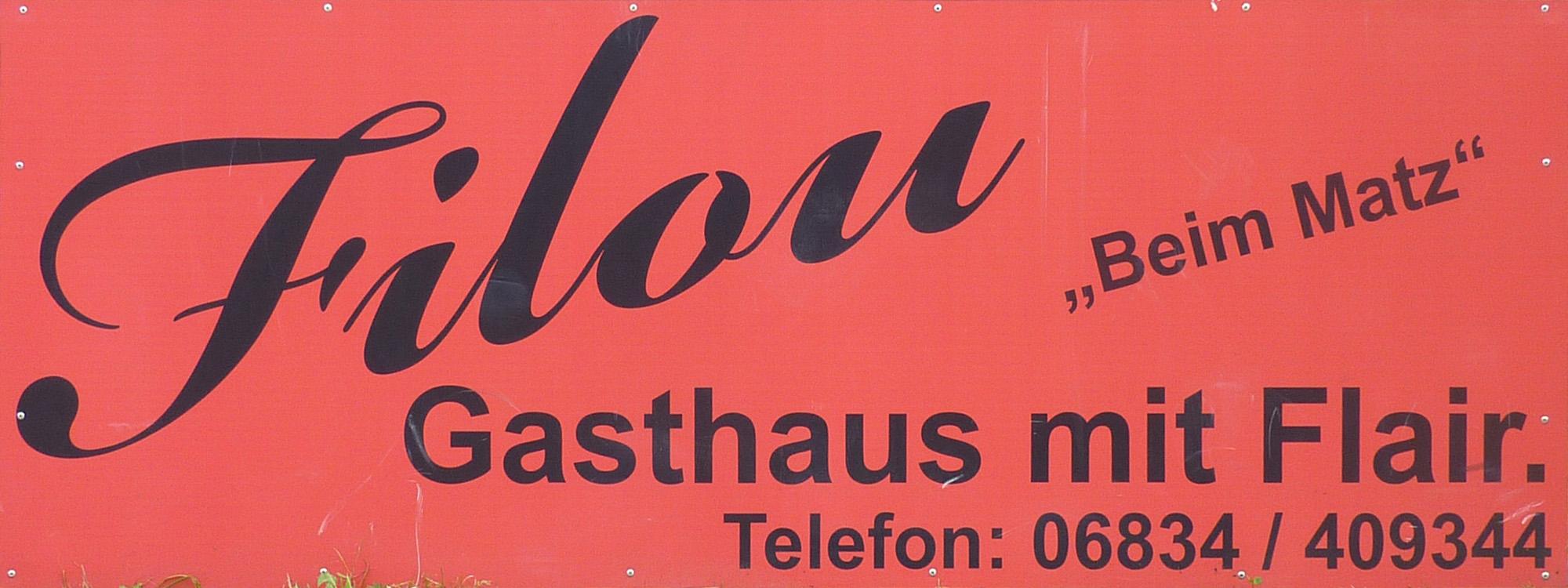 Gasthaus / Bistro Filou
