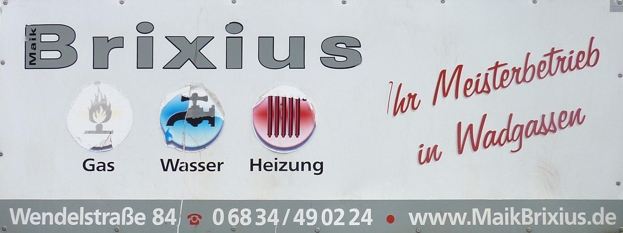 Gas - Wasser - Heizung Brixius